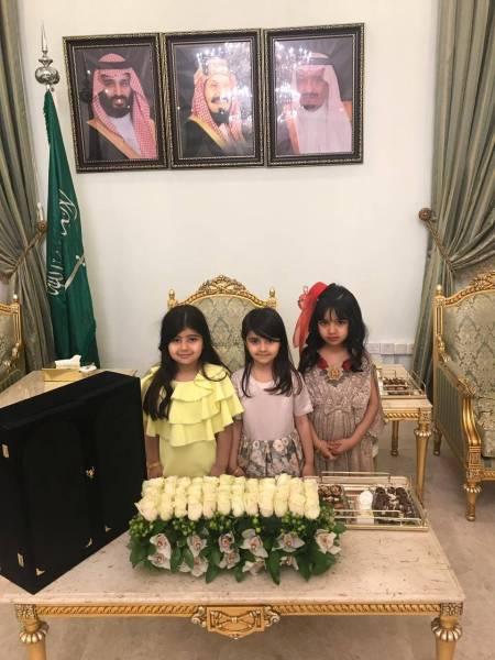 صورهمضاوي بنت سعود تهنئ الفائزات بمسابقة القرآن الكريم في الجوف