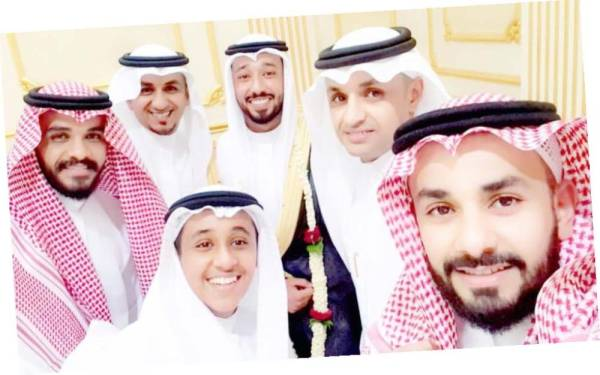أفراح الدريبي والغامدي بزواج ناصر